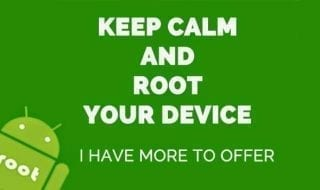 Android rooting keep calm and root