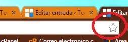 administrador de marcadores de Chrome