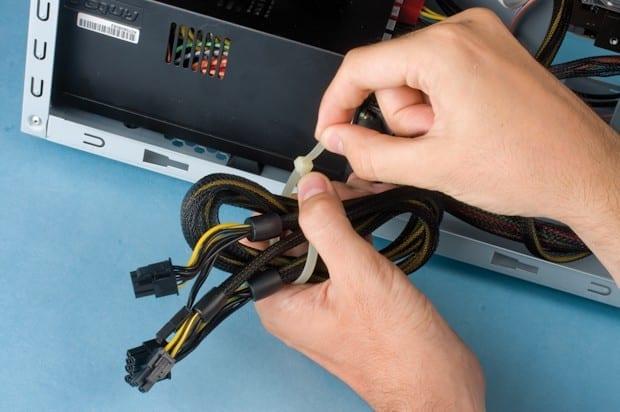 Consejos para organizar los cables del PC c