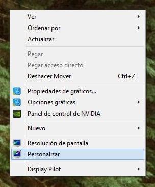 cómo personalizar la apariencia Windows 8 b