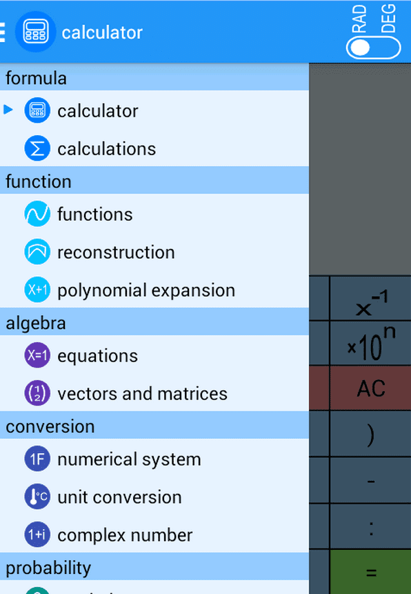 La mejor aplicación de matemáticas para Android