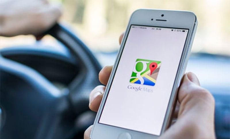 Google Maps sin conexión a Internet