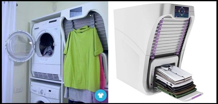 FoldiMate seca, plancha y dobla la ropa por ti
