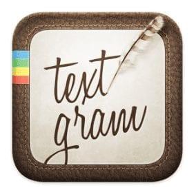 Textgram: aplicación para Instagram