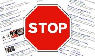 bloquear web en chrome