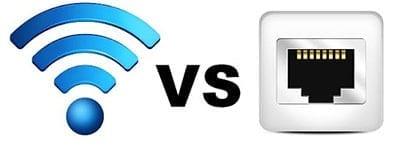 Ethernet vs. Wifi