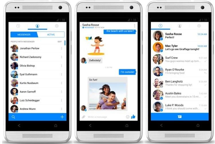 Facebook Messenger para Android