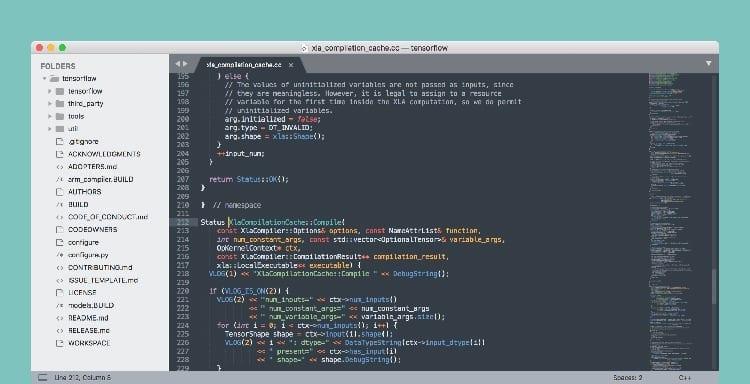 Editor de código Sublime Text