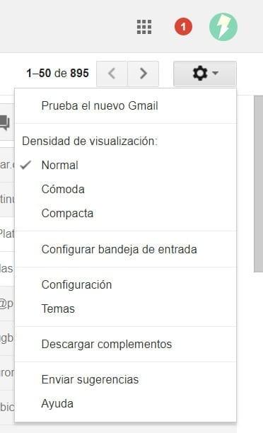 Prueba el nuevo Gmail
