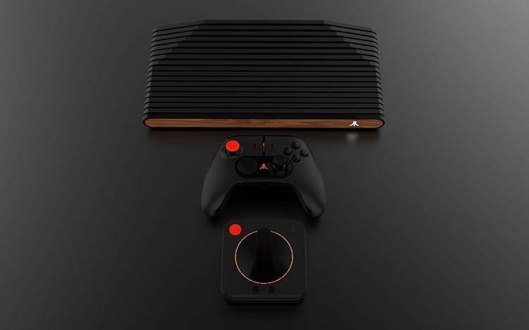 Consola y mandos Atari VCS