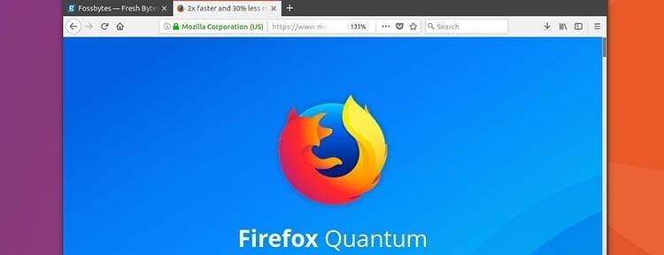 Ocultar pestañas en Firefox