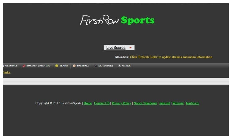 FirstRow Sports