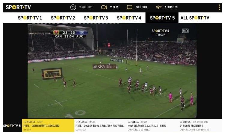 Sport TV la herramienta para ver todos los partidos gratis de Movistar +