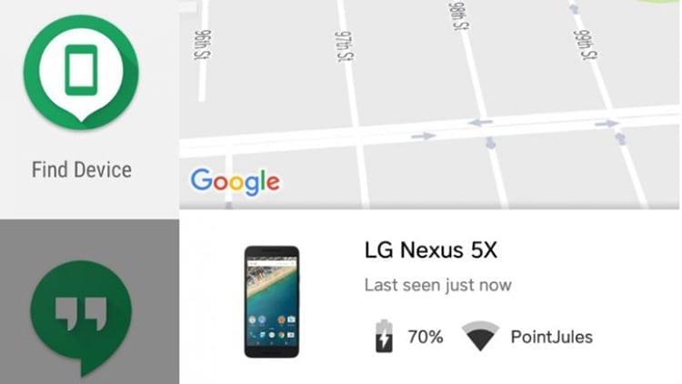 Encontrar un móvil Android