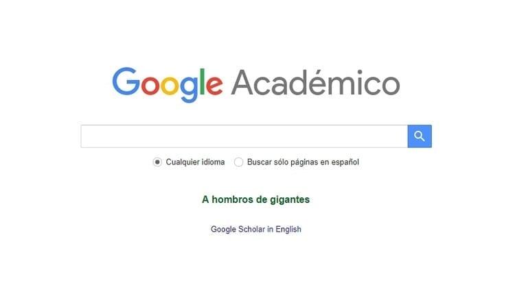 Google Scholar o Google Académico