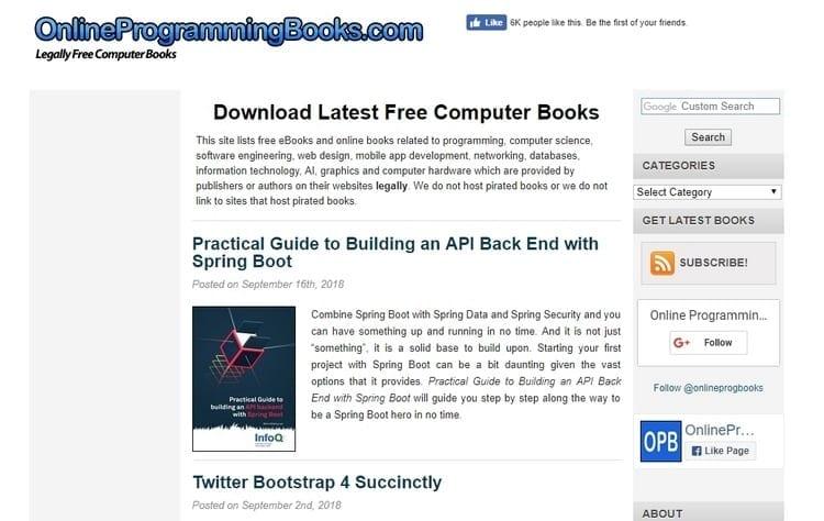 Online Computer Books