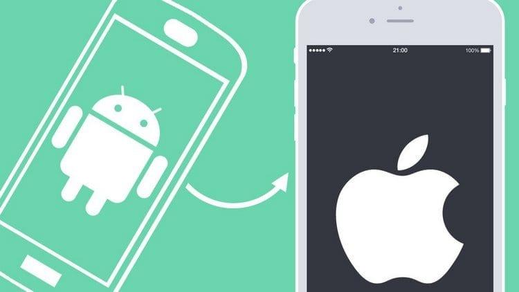 Cómo pasar los contactos de Android a iPhone
