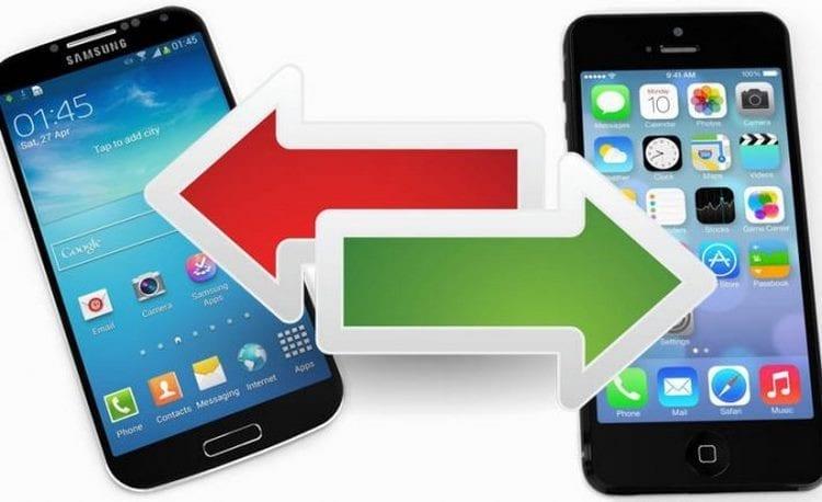 Pasar contactos de iPhone a Android y de Android a iPhone