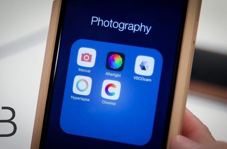 Aplicaciones de fotografía móvil