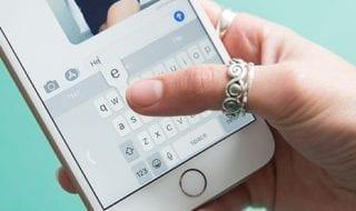 como activar el teclado lateral en iphone