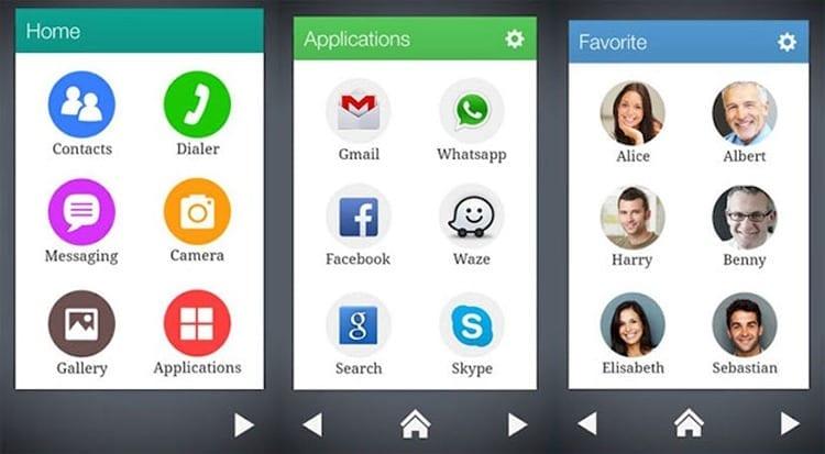 Wiser, lanzador de aplicaciones sencillo