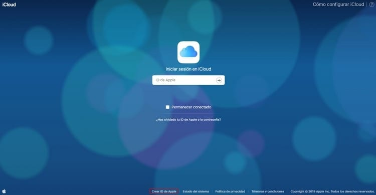 crear id Apple
