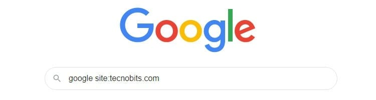 Buscar dentro de un sitio web