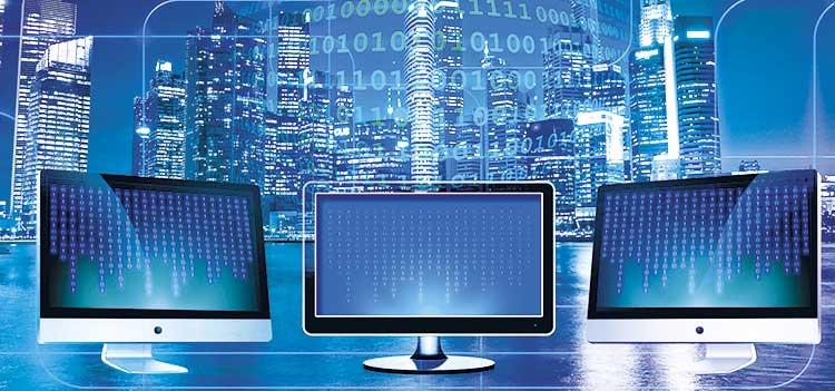 características de la red LAN