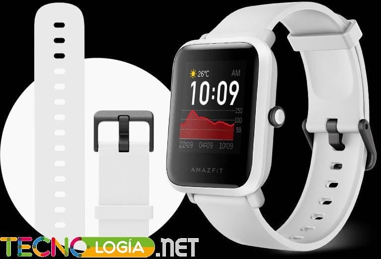 El Amazfit Bip S un reloj inteligente que tiene lo suyo