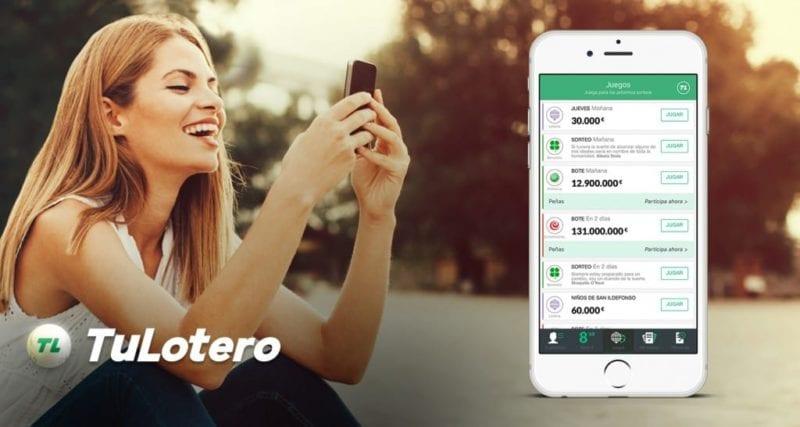 Loteria en apps